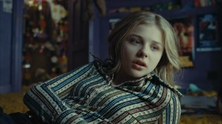 Moody teenaged daughter Carolyn (Chlo� Grace Moretz) informs the family nanny about her strange visit from Barnabas in a deleted scene merely implied in the final film.