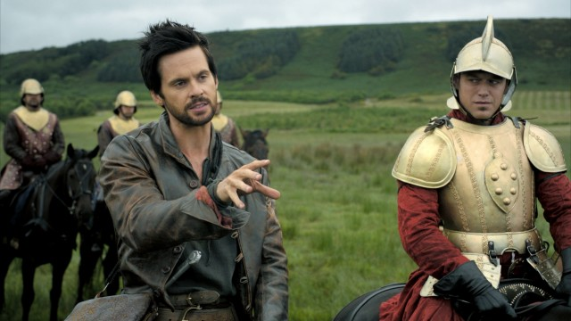 "The Starz drama ""Da Vinci's Demons"" portrays Renaissance artist Leonardo da Vinci (Tom Riley) as a dreamy and irreverent young genius/fighter/lover."