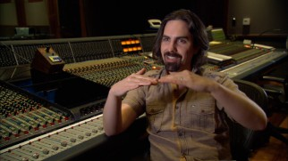 Composer Bear McCreary explains his palindromic theme score.