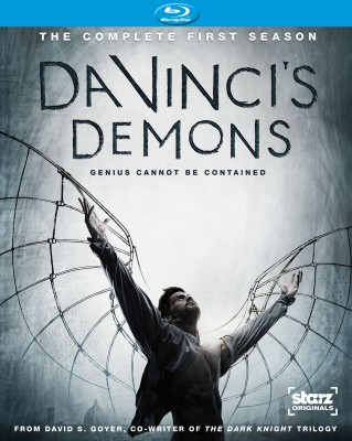 Da Vinci's Demons: The Complete First Season Blu-ray cover art - click to buy from Amazon.com