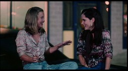 This hoodtop conversation written by and featuring Joey Lauren Adams and Parker Posey is one of seventeen deleted scenes provided.