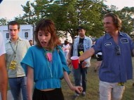 Parker Posey and a red cup-carrying Matthew McConaughey were among the cast members reunited for the Alamo Drafthouse Cinema's 10th anniversary outdoor moon tower screening in 2003.