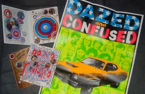 "The Criterion Collection Blu-ray release of ""Dazed and Confused"" includes a book, a Digipak, and this bright poster."