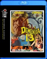 Dementia 13 Blu-ray Disc cover art -- click to buy from Amazon.com