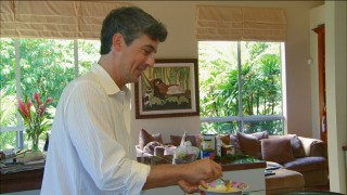"Alexander Payne makes an omelette in ""Working with Alexander."""
