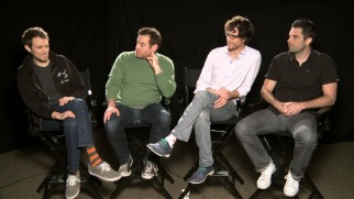 The four bros who made Devil's Due talk about their movie in a commentary and this featurette.
