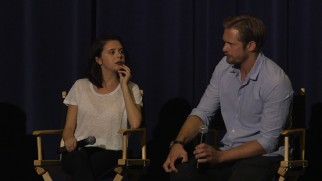 Bel Powley, sans period bangs, and Alexander Skarsgård, discuss the film's making in this Q & A and the audio commentary.