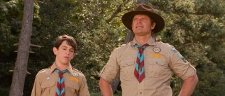 Greg (Zachary Gordon) and Mr. Heffley (Steve Zahn) hope a father-son Wilderness Explorer outing can bond them.