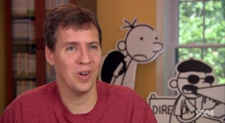 "Jeff Kinney talks about his books, his life, and his office in the FX Movie Channel special ""Wimpy Empire."""