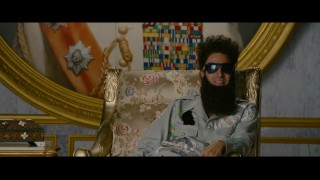 In this unused alternate ending, Admiral General Aladeen (Sacha Baron Cohen) waxes upon his movie's Oscar chances.