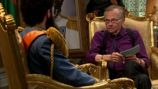 Larry King may be off television, but he's on Blu-ray in this brief bonus interview, a portion of which makes it into the unrated cut of the film.