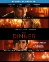 The Dinner: Blu-ray + Digital HD combo pack cover art -- click to buy from Amazon.com