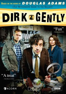 Dirk Gently U.S. DVD cover art -- click to buy from Amazon.com
