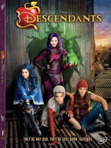 Disney's Descendants DVD cover art -- click to buy from Amazon.com