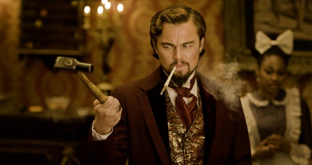 Leonardo DiCaprio plays Calvin Candie, the owner of Mississippi's Candyland plantation.