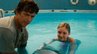 Dr. Clay Haskett (Harry Connick, Jr.) and his daughter Hazel (Cozi Zuehlsdorff) welcome Sawyer's assistance in Winter's journey of rehabilitation.