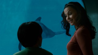 Sawyer's mom (Ashley Judd) is happy to see her son take an interest in anything.