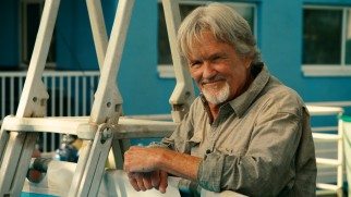 Kris Kristofferson supplies some salt as Reed Haskett, the eldest member in a family of sea lovers.