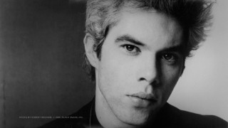 A number of audio supplements give you plenty of time to inspect this 1986 photo of writer/director Jim Jarmusch.