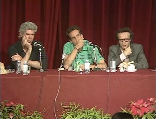 In this press conference at the 1986 Cannes Film Festival, Jim Jarmusch, John Lurie, and Roberto Benigni answer questions.