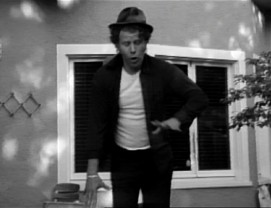 "Tom Waits' deck dancing, unintended for public consumption, becomes the heart of his Jarmusch-directed music video for his Cole Porter charity cover ""It's All Right With Me."""
