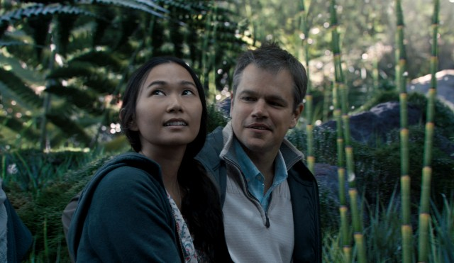 "Somewhere along the line, ""Downsizing"" becomes less about miniaturization and more about Ngoc Lan Tran (Hong Chau), the Vietnamese dissident who eventually catches Paul's (Matt Damon) eye."