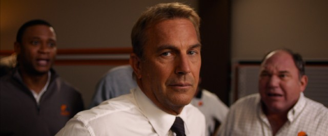 Sonny's (Kevin Costner) inner circle isn't thrilled with his Draft Day maneuvering, but he's got a plan.