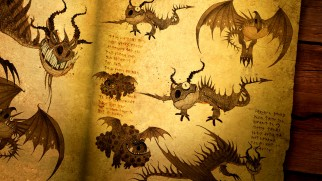 There be many lessons about many dragon species in the Book of Dragons.