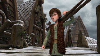 "Missing his dragon, Hiccup investigates Fishlegs' strange behavior in ""Gift of the Night Fury."""