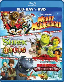 DreamWorks Holiday Classics Blu-ray + DVD cover art -- click to buy from Amazon.com