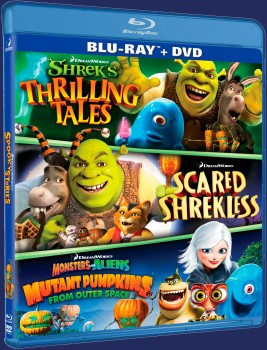 DreamWorks Spooky Stories Blu-ray + DVD cover art -- click to buy from Amazon.com