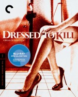 Dressed to Kill: The Criterion Collection Blu-ray Disc cover art -- click to buy from Amazon.com