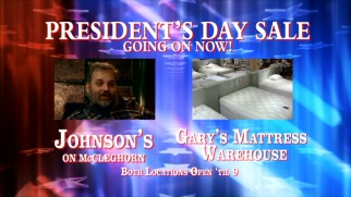 "Dan Harmon pitches a President's Day mattress in this understandably cut bit from ""Miami."""