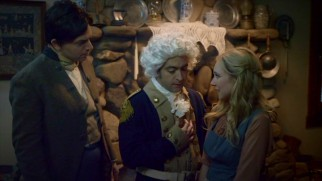 George Washington (Derek Waters) and Colonel Henry Luddington (Paul Scheer) are reluctant to let a teenaged girl (Juno Temple) make an important horse ride.