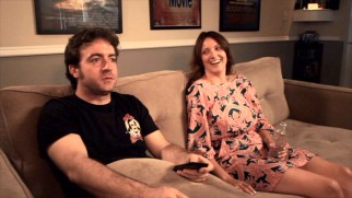 "Two-time drunken narrator Jen Kirkman gets to watch her pilot appearance with creator Derek Waters in the first of the DVD's ""Sober Reveals."""