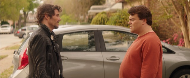 """The D Train"" channels ""Planes, Trains & Automobiles"" with a strangely heartfelt, closure-supplying reunion of Oliver Lawless (James Marsden) and Dan Landsman (Jack Black)."