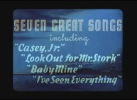 The original 1941 theatrical trailer touts seven great songs, its count and titles possibly differing from what you know of the film's soundtrack.
