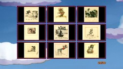 "The Blu-ray ""Dumbo"" art galleries hold over six hundred stills including these nine storyboard images."