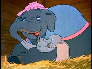 Still from Dumbo: 60th Anniversary Edition DVD - click to view screencap in full 720 x 480.