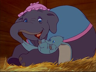Still from Dumbo: 70th Anniversary Edition DVD - click to view screencap in full 720 x 480.
