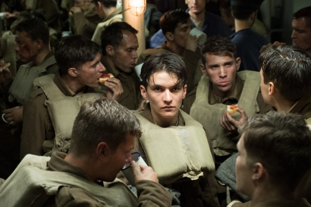 """Dunkirk"" stars Fionn Whitehead as Tommy, a young British private who sneaks onto a ship as part of the Dunkirk evacuation."
