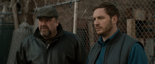"""The Drop"" stars James Gandolfini as Cousin Marv and Tom Hardy as Bob Saginowski, who together operate a Brooklyn bar that is robbed."
