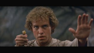 "Peter MacNicol, from the Upper Vest Side, in ""Dragonslayer"""