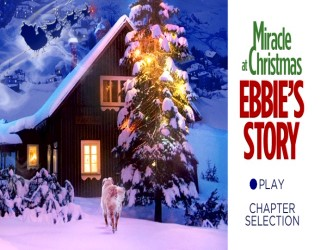 "The cover and menu artwork bear positively no resemblance to the movie whose title they inexplicably elongate to ""Miracle at Christmas: Ebbie's Story."""