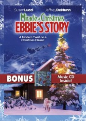 Ebbie (1995) a.k.a. Miracle at Christmas: Ebbie's Story DVD + CD cover art - click to buy from Amazon.com