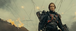 Cage is trained by Sergeant Rita Vrataski (Emily Blunt), a decorated soldier nicknamed the Angel of Verdun for her heroics there.