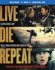 Edge of Tomorrow: Blu-ray + DVD + Digital HD combo pack cover art -- click to read press release.