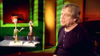 "Mark Hamill discusses voicing Walter Hobbs in ""Elf-in' All the Way."""