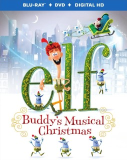 Elf: Buddy's Musical Christmas Blu-ray + DVD + Digital HD combo pack cover art -- click to buy from Amazon.com