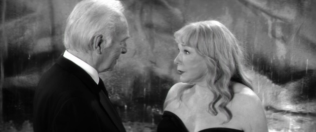 "Fred (Christopher Plummer) and Elsa (Shirley MacLaine) recreate a famous scene from Fellini's ""La Dolce Vita"" near the end of ""Elsa & Fred."""